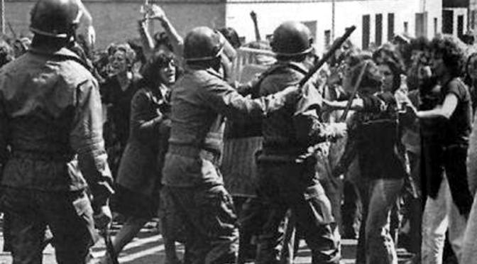 Manifestazione femminista 1977